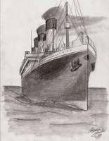 Sail on Titanic by btomimatsu