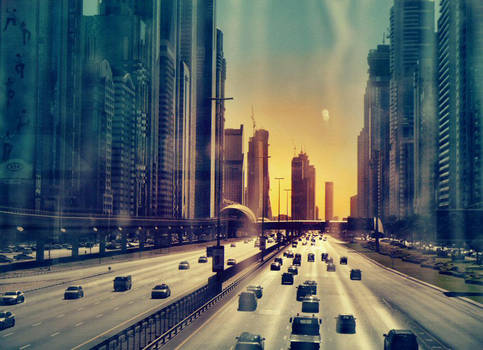 The road by DianaCretu