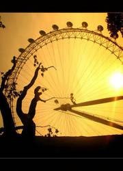 London Eye by DianaCretu