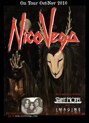 Nico Vega Tour Poster 2010 by Chirin