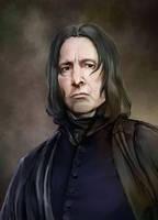 Severus Snape by szilviahart