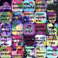 MLP Season 8 Bingo by TheSpeedyPony