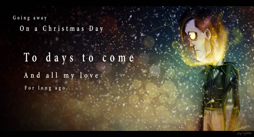 Going Away On A Christmas Day By Kenilem