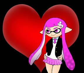 Splatoon Valentines by kilroyart