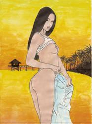 sunset strip by kilroyart