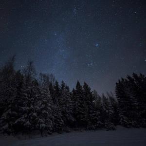Starry sky by Antz0
