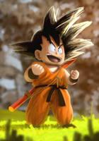Goku by chrisnomi