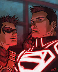 Reboot - Teen titans by Cris-Art
