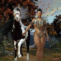 Pocahontas by MrSynnerster