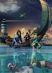 Siren of the Sea by MrSynnerster