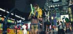 Cyberpunk Streets by MrSynnerster