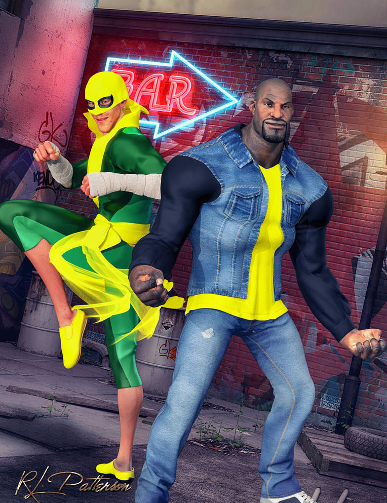 Heroes for Hire by MrSynnerster