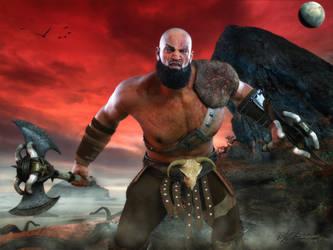 God of War by MrSynnerster