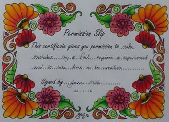 Permission by astraldreamer