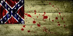 Grunge Flag of Confederacy (2) by evmir1