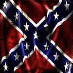 Grunge Confederacy Battle Flag by evmir1