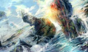 Waterfalls by MikaZZZ