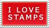 I love Stamps by MrFimbles