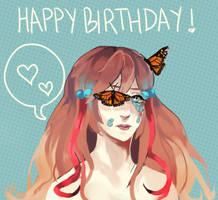Happy Birthday Cherriluu! by Evimo