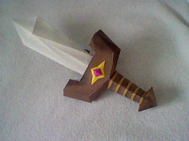 Papercraft Sword by Digi-Elf