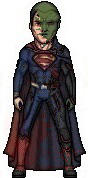 Martian Manhunter changing into Superman by HNutz