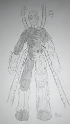 Steel Spider (Spider-Verse Draft) by HNutz