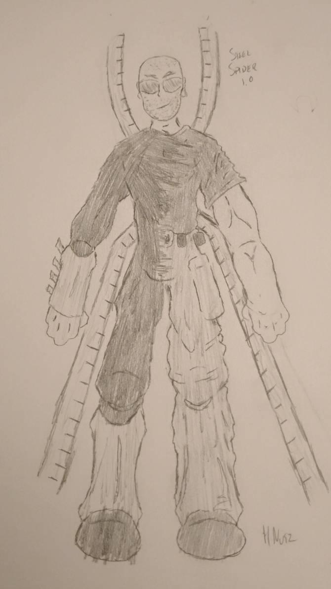 Steel Spider (Spider-Verse Draft) #2 by HNutz