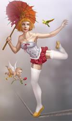 Lina Balance by jhoneil