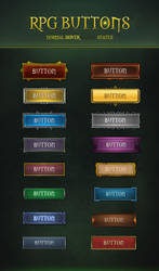 RPG Buttons 2.0 by KodiakGraphics