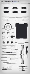 30 Cybertech Shapes Vol. 3 by KodiakGraphics