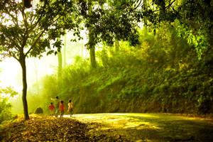 Mengejar matahari by iqbalnugraha