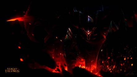 Splash art Rework colours (Dragonslayer Pantheon) by Akimaratsu