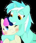 Lyra flavoured hugs by jigsaw91