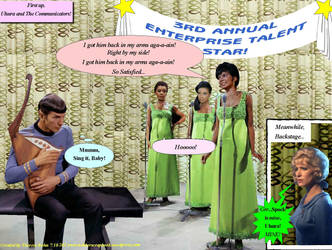 Enterprise Talent Show-Uhura and The Communicators by Therese-B
