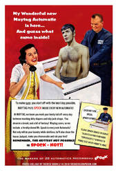 Maytag Super Spock Surprise  by Therese-B