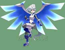 COMMISH: MEGA WEISS by zipskyblue