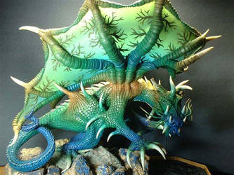 Dragon Azul by jshapeshifter