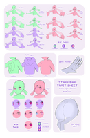 Starriear Traits Sheet by honeycove