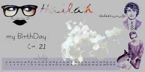 my BirthDay by misshailah