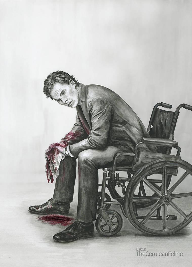 In Shock - Hurt Sherlock by TheCeruleanFeline