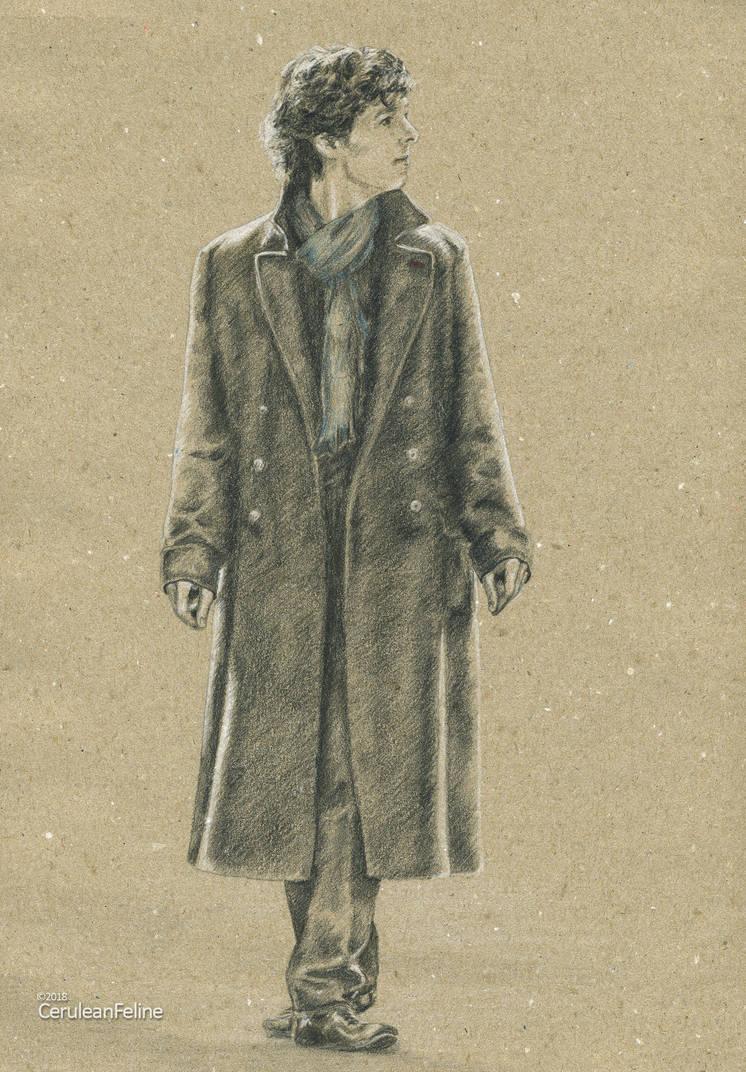 Stimming Sherlock by TheCeruleanFeline