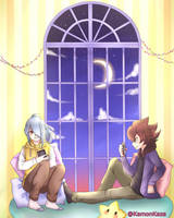 Calm [Kazemaru and Fudou] by KamonKaze