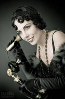 Vintage phone call by TarkinX