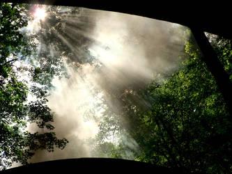 Rays of smokelight by Septdeneuf