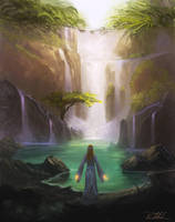 Magic Falls by vennom07