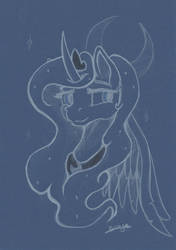 Portrait Luna by BronyMirage