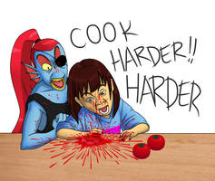 Cook harder HARDER by weirdAlien13