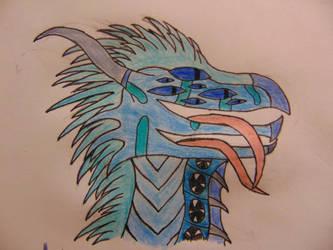 Scary Sapphire (W/ Pupils) by SilverStarOfSootClan