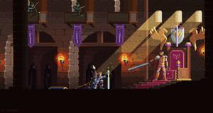 Fallen Knight by kirokaze