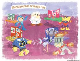 Mega man Science Fair by mrstupes